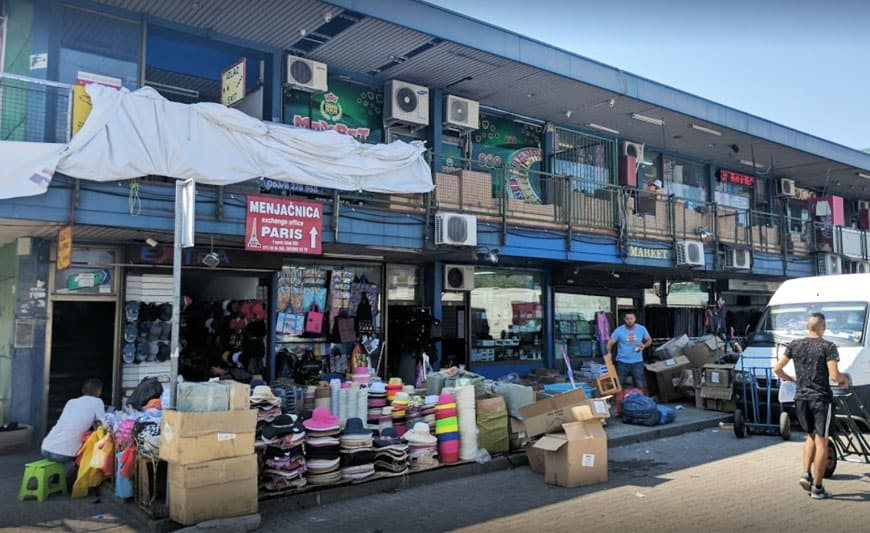 השוק הסיני בלגרד
